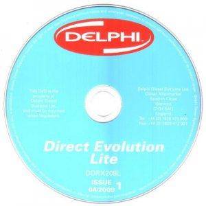 Delphi Direct Evolution (2009). Каталог запасных частей ТНВД фирмы Delphi.