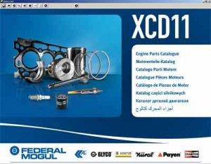 Federal Mogul (версия XCD 11.1.01 2011 год). Каталог моторной группы.
