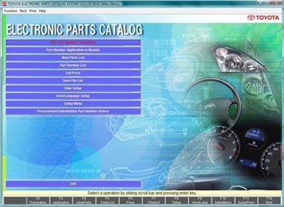 Toyota EPC 01.2010 с обновлениями 04-05.2010 EU GEN USA JAP