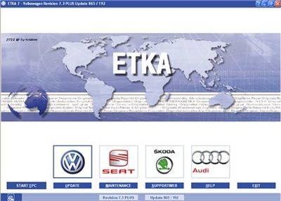 ETKA 7.0+7.3 Plus AutoUpdate