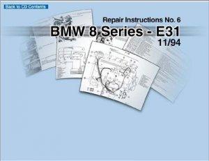 BMW E31. Дилерское руководство по ремонту.
