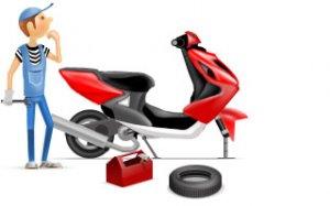 Ремонту скутера собственными силами. Обучающее видео