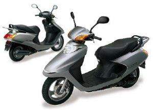 Как заменить покрышку заднего колеса на скутере Honda. Видеопособие