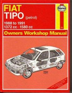 Fiat Tipo 1991.Service Manual.