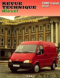 Ford Transit Diesel Engine 1986. Инструкция по ремонту и обслуживанию.