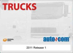 AUTOCOM Trucks CDP (2011 год, версия 2.11.1). Программа для диагностики грузовых автомобилей