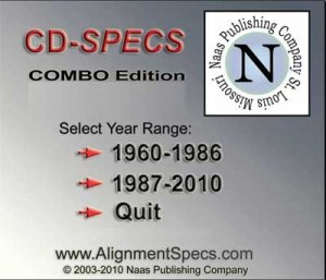 CD-SPECS Combo edition. ����������� ������-��������� ������������ ����������� 1960 - 2010 ���� �������