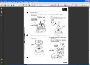 Honda Civic 1996-1998. Service Manual.