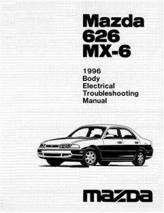 Mazda 626, MX-6 диагностика и ремонт электрооборудования.