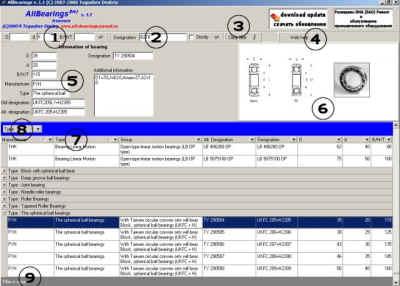 AllBearings - справочник по подшипникам