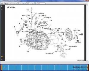 Mitsubishi ASX Workshop Manual (2011-12). Дилерское руководство.