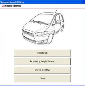 Mitsubishi Colt  2008-11. Оригинальное  руководство по ремонту.