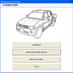 Mitsubishi l200 Workshop Manual (2009-10). ��������� �����������.