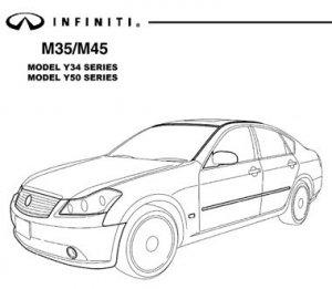 Infiniti M35-45 Y34 Y50 (2003-07). Service Manual.