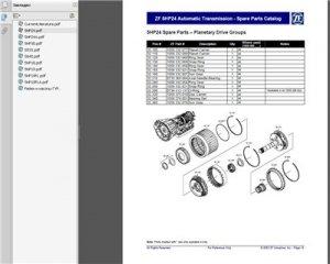 ZF gearbox АКПП. Руководства по ремонту.