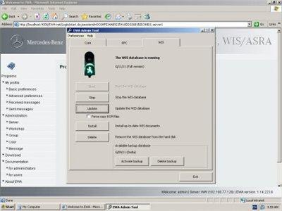 MERCEDES-BENZ WIS/ASRA 11.2011 [Full version] ver.1.14.223.6