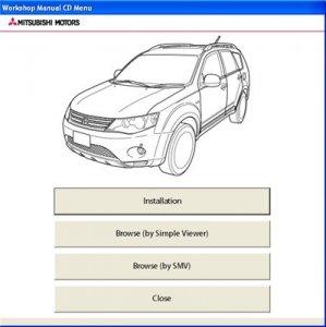 Mitsubishi OUTLANDER 2007. Дилерское руководство по ремонту.