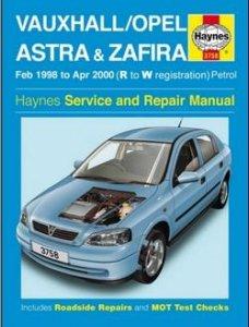 Opel  Astra & Zafira 1998-2000. Руководство по ремонту.