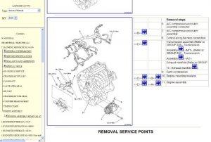 Mitsubishi Lancer X. Workshop Manual 2009.