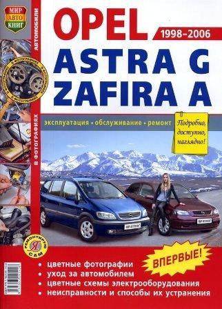 Руководство по ремонту и эксплуатации автомобиля OPEL ASTRA G / ZAFIRA A 1998-2006 гг.выпуска в фотографиях