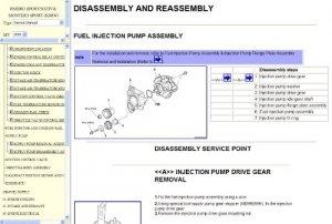 Mitsubishi Pajero Sport,Nativa,Montero-2009. Дилерское руководство по ремонту и обслуживанию.