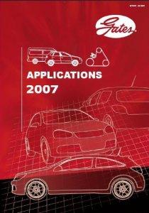 Gates 2006-07. Каталог приводных ремней, роликов, термостатов.