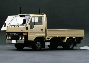 TOYOTA DYNA 1984. Repair manual shassis & body.