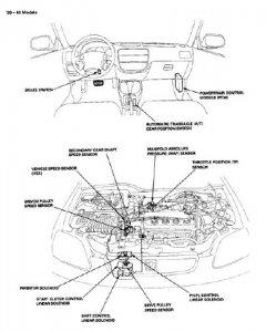 Honda Civic 1996-2000 гг. Руководство по ремонту.