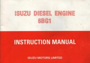 Двигатель ISUZU Diesel  6BG1.
