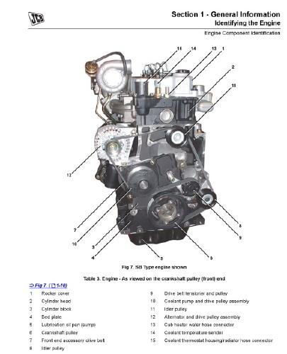 скачать руководство по ремонту jcb 540170
