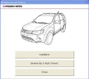 Mitsubishi OUTLANDER (CW#) 2009. Дилерское руководство по ремонту и обслуживанию.