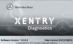 Mercedes DAS / XENTRY (������ 1.2013). ��������� ����������� ����������� Mercedes