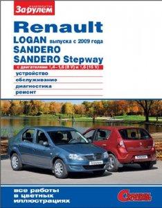Renault Logan с 2009 года, Sandero, Sandero Stepway с двигателями 1,4–1,6 (8V); 1,6 (16V)