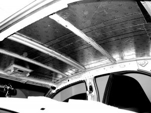 Проведение шумоизоляции крыши (потолка) автомобиля. Видео пособие