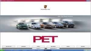 Авто каталог запчастей Porsche PET PIWIS вер. 7.3 291 + программа PET вер. 7.2 273