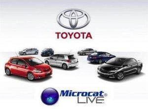 Toyota Microcat Live 3 Mastertech 2013. Электронный каталог запчастей