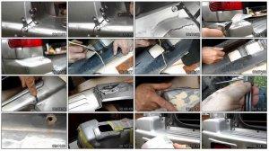 Ремонт трещины на бампере автомобиля: видео пособие