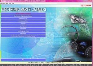 Электронный каталог запчастей TOYOTA EPC 06.2013