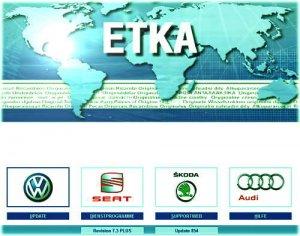 Каталог VAG ETKA - версии 7.3 и 7.4 (2013)