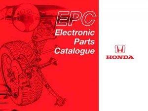 Honda EPC: версия 10.2013 Электронный каталог запчастей