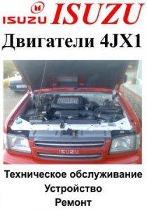 Двигатели Isuzu 4JX1 (дизель): руководство по обслуживанию и ремонту