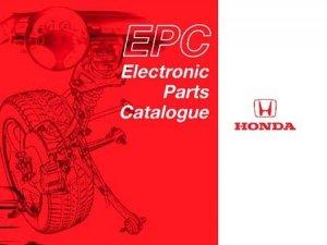 Honda EPC центральный регион 10.2013 каталог запасных частей
