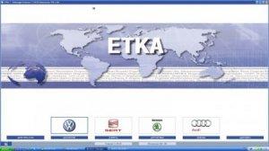 Ремонтная база ETKA 7.3 а также 7.4 11.2013 Germany + International + Хардлок x64 + прайсы от 09.2013 + винкоды