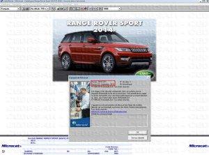 Каталог оригинальных запчастей Land Rover Microcat вер. 09.2014