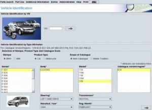 Каталог запасных частей BMW ETK (версия 01-2015)