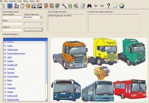 Scania Multi (вер. 10-2014): каталог запчастей и руководства по ремонту