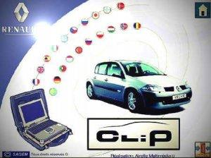 Диагностический софт Renault CAN Clip версия 146 - 2015