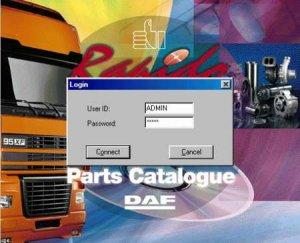 Электронный каталог запчастей DAF Parts Rapido (вер. 1401 или 01/2014)