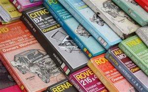 Книжки для ремонта авто (формат PDF, 115 штук)