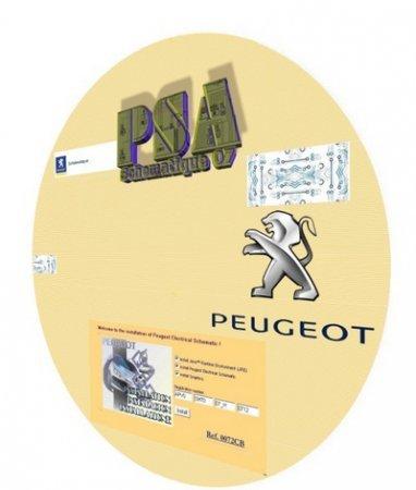 сборник электросхем Peugeot скачать